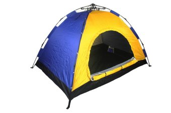 New Outdoor 3 Person Automatic Camping and Backpacking Tent EasySet-up