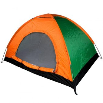 New Outdoor 3-Person C&ing and Backpacking Tent (Orange/Green)  sc 1 st  Lazada Philippines & New Outdoor 3-Person Camping and Backpacking Tent (Orange/Green ...