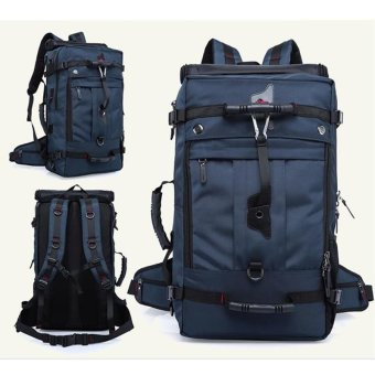 New Outdoor Sports Backpack Large Capacity Mountaineering BagMultifunction Travel Tote Bag for Men Waterproof Luggage Bag(ExtreLarge) - intl