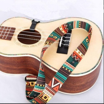 New Ukulele Strap With Hook For Ukulele Guitar Accessories Beauty Fashion - intl