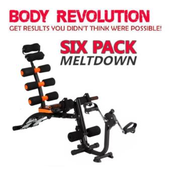 New version Six Pack Care X-Bike Power Total Body Gym Stationmachine Price Philippines