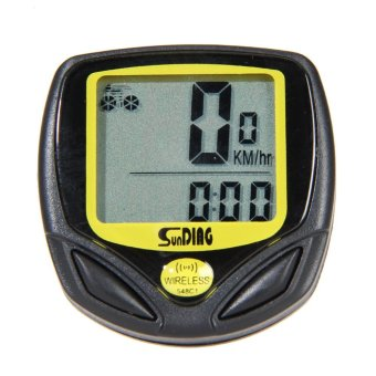 New Wireless Bicycle Cycling Bike Computer Speedometer Odometer Meter - intl