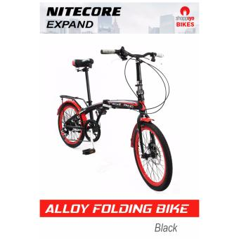 Nitecore Extreme Expand Folding Bike (Black/Red)