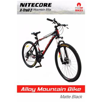 Nitecore X-Trail 2 Mountain Bike (Matte Black)