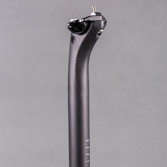 NO LOGO 3K Matte Carbon Fiber Seatpost Length Cycling Road Bike Mountain Bicycle Seat Post 31.6x400mm - intl - 2