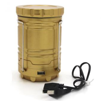 No.G-85 Rechargeable Solar Camping Lantern Emergency LED Light - 3