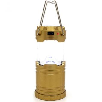 No.G-85 Rechargeable Solar Camping Lantern Emergency LED Light - 4