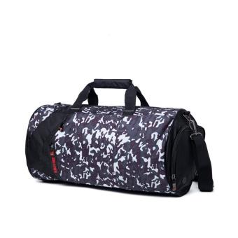 Nylon sports bag Training Gym Bag Men Woman for the gym Fitness bagDurable Multifunction Handbag Outdoor Sporting Tote Small Size -intl