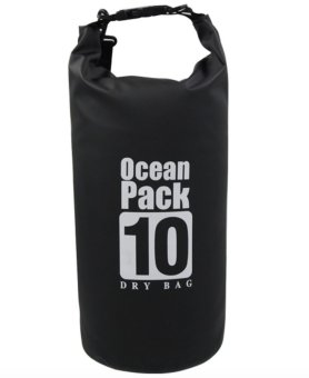 Ocean Pack Waterproof Dry Bag 10L (Black)