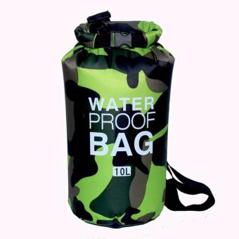Ocean Pack Waterproof Dry Bag Camouflage 10L(GREEN) Price Philippines