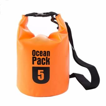 Ocean Pack Waterproof Floating Dry Bag 5L ideal for Outdoor Sports Price Philippines