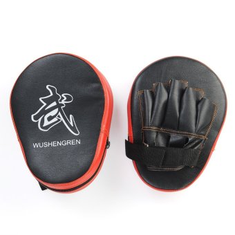 OEM 2X Boxing Mitt MMA Jab Focus Punch Pad Training Glove Karate Muay Thai Kick