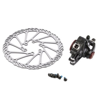 OH BB7 MTB Bike Brakes Disc Caliper Mechanical Front Wheel+160mmRotor New Black