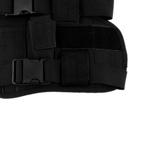 OH Practical Airsoft Military Tactical Drop Leg Thigh Holster Pouch Black - Intl - 3