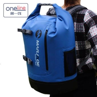 Oneline Marjaqe B1501 Beach Boating Trekking Camping SwimmingWaterproof Dry Bag 28L(Blue) Price Philippines