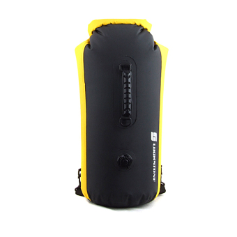 Outdoor 25L Waterproof Bag Drifting Dry Bag Kayak Canoe RaftingCamping Yellow - 2
