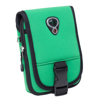 Outdoor Message Shoulder Bag Pouch Waterproof Package (Green)