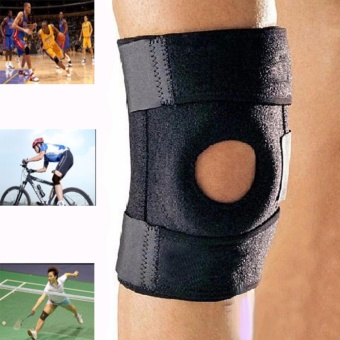 Outdoor Mountaineering Ventilate Basketball Cycling Running Adjustable Knee Guard For Sports - intl