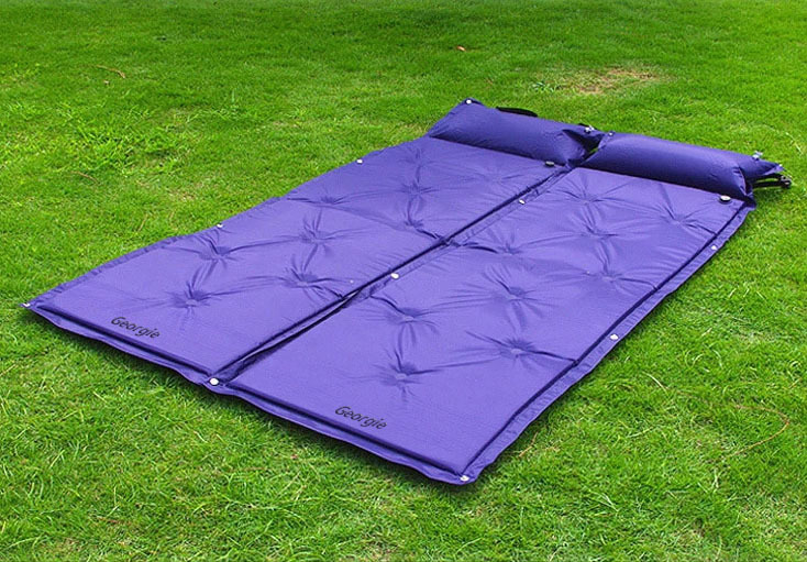 ... Outdoor Multifunction Inflatable Double Cushion Thickening C&ing Mattress Pad Mat Waterproof Moisture-Proof Pad Mat ... : tent mattress pad - memphite.com