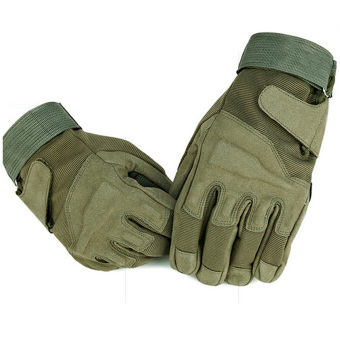 Outdoor Product Airsoft Hunting Cycling Motorcycle Driving Tactical Hand Gloves Army Green (Intl)