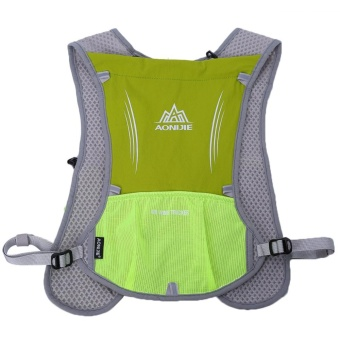 Outdoor Running Water Hydration Backpack Hiking Cycling Sport Bag(green) - intl - 2