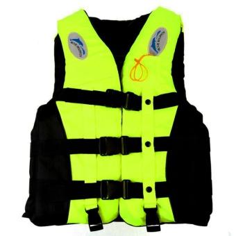 Outdoor S-3XL Adult Life Jacket Lifesaving Swimming Boating SailingVest + Whistle Blue S High Quality - intl Price Philippines
