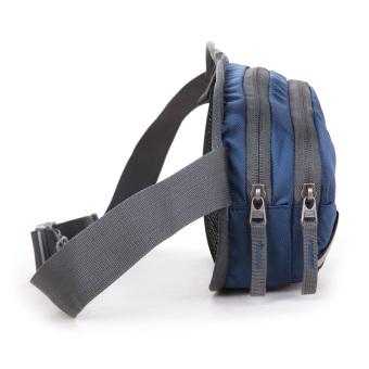 Outdoor Sports Waist Packet Kettle Bag (Dark Blue) - picture 2