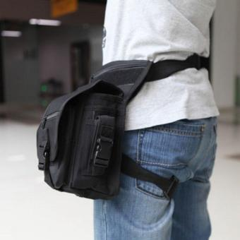 Outdoor Tactical Military Drop Leg Bag Panel Utility Waist Belt Pouch Bag
