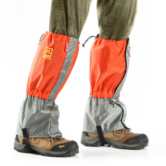 Outdoor Waterproof Windproof Gaiters Leg Protection Guard Skiing Hiking Climbing Moutaineering - picture 2
