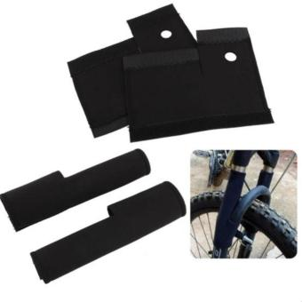 Pair of Bike Front Fork Cover Suspension Protector Guard Pad #0916 - 2