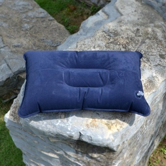 PAlight Inflatable Camping Pillow With Velvet Double Sided - intl