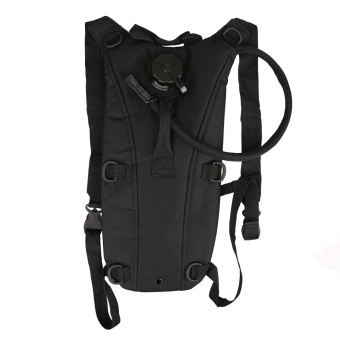 PAlight Outdoor Hydration Backpack Bag with Bladder (black 2.5L)
