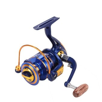PAlight Portable 12+1BB Ball Bearing Metal Spinning Boat Fishing Reel Wheel (size:FH5000) - intl