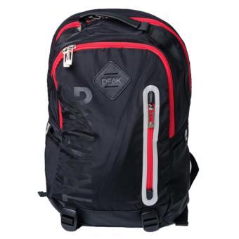 Peak Sports Training Backpack Bag [Black/Red] B162010RB