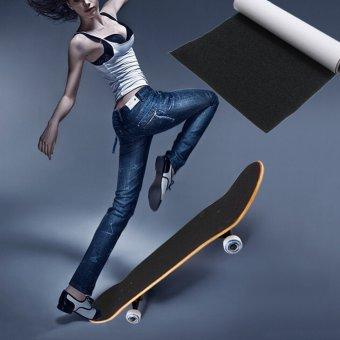 Perforated Grip Tape Sand Paper Skateboard Skate Scooter Sticker 81 cm * 22 cm - 2