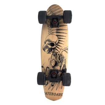 Phoenix Hub 60 Cm Wood Deck Penny Skateboard with Free Carrying BAg Price Philippines