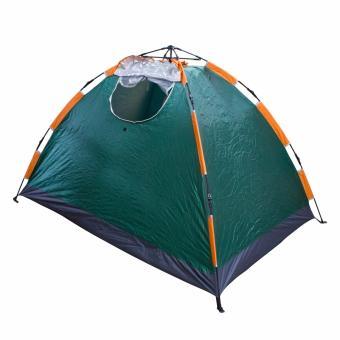 PhoenixHub Automatic Heavy Duty 4 Person Big Outdoor Camping Hiking Water Proof Tent Teng You (Big Green) - 4