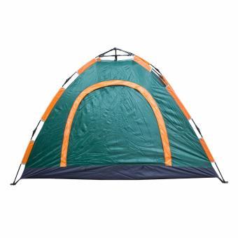 PhoenixHub Automatic Heavy Duty 4 Person Big Outdoor Camping Hiking Water Proof Tent Teng You (Big Green) - 3