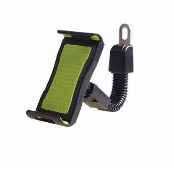 Phone Mount Holder Bicycle Motorcycle Stand for Smartphone (Green)