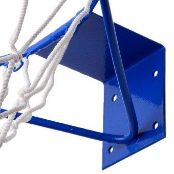 Plastic Coated Basketball ring Jr 14'' (Blue) - 3