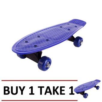 Plastic Skateboard (Blue) Buy 1 Take 1