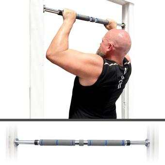 PopSky Indoor Pull-up Bar 62-105cm Indoor Fitness Door Portable Way Gym Bar Chin Up Bar for Home-Blue - intl - 4