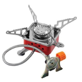 Portable Card Type K202B Camping Butane Gas Stove