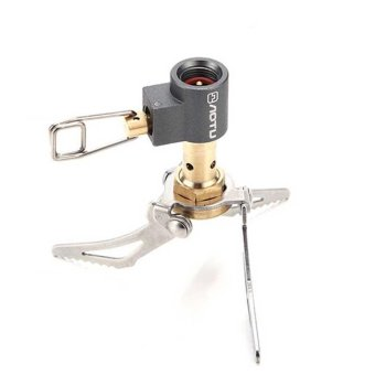 Portable Folding Mini Camping Stove Outdoor Gas Stove SurvivalFurnace Stove 45g 2700W Pocket Picnic Cooking Gas Burner - intl