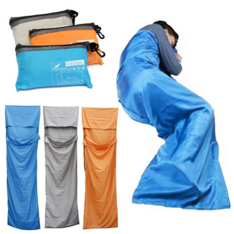 Portable Outdoor Camping Travel Multifunction Ultra-light Envelope Sleeping Bag Blue