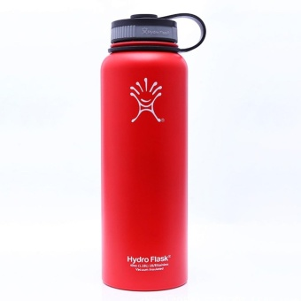 Portable Thermos Cup Stainless Steel Thermo Tumbler Vacuum Flasks Travel Insulated Coffee Mug Color Red