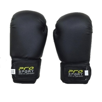 Pro Sports Boxing Gloves 10oz (Black)