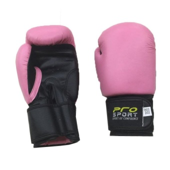 Pro Sports Boxing Gloves 8oz (Pink) Price Philippines