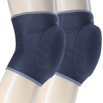 PROCARE PROTECT #6026 Volleyball Knee Pad, 20mm High Density FoamPad, Slip-On, Pair 4mm Embossed Neoprene Anti-Skid - 2