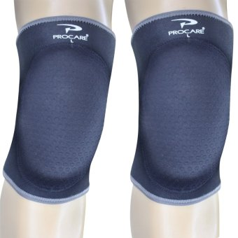 PROCARE PROTECT #6026 Volleyball Knee Pad, 20mm High Density FoamPad, Slip-On, Pair 4mm Embossed Neoprene Anti-Skid